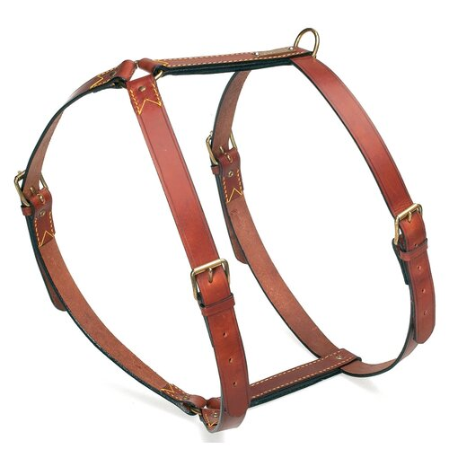 PetEgo Classic Leather Dog Harness