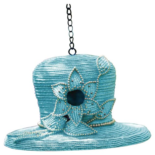 Evergreen Flag & Garden Dressy Hat Hanging Birdhouse