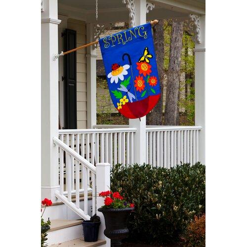 Evergreen Flag & Garden Spring Showers Garden Flag