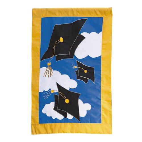 Graduation Celebration 2-Sided Garden Flag