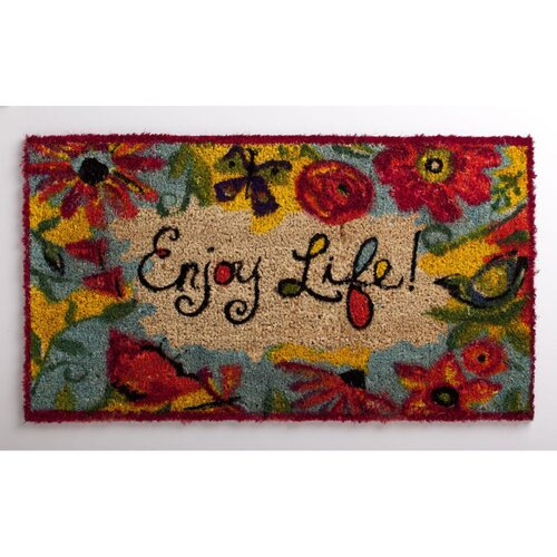 Evergreen Flag & Garden Enjoy Life Mat
