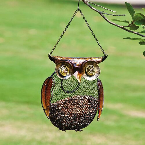 Owl Decorative Bird Feeder