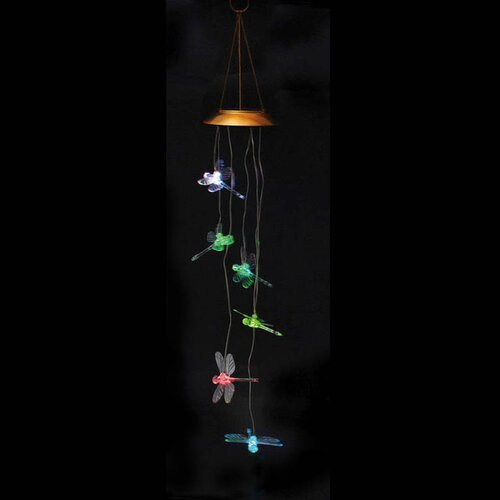 Dragonfly Solar Mobile Wind Chime