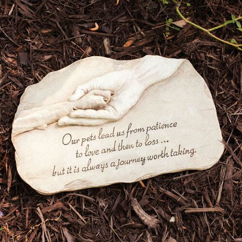 Pet Devotion Garden Stepping Stone