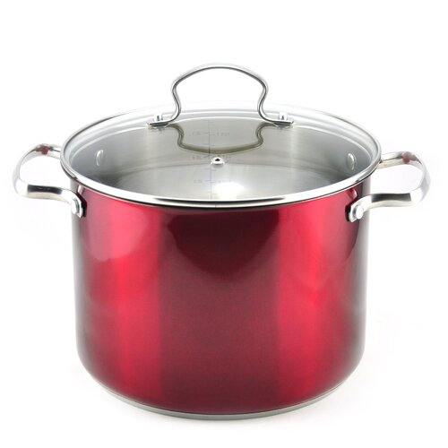 8-qt Stock Pot with Lid