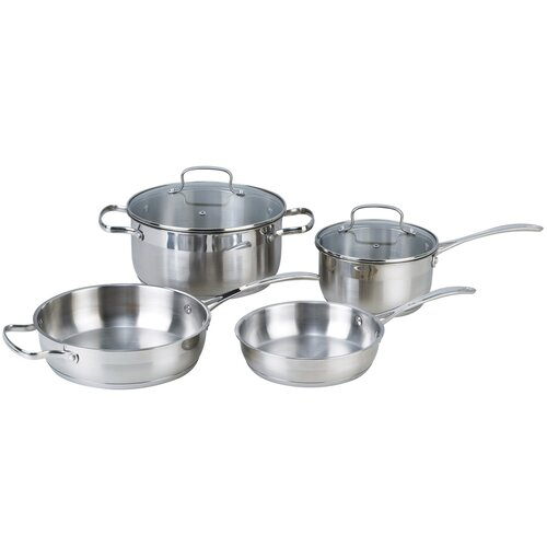 Kevin Dundon Stainless Steel 6-Piece Cookware Set