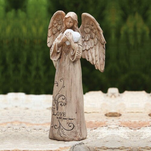 Wish Givers Love Angel Statue