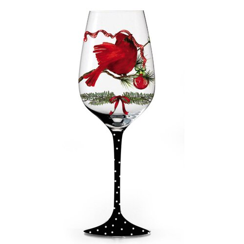 A Peaceful Christmas All Purpose Wine Glass