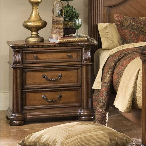 Progressive Furniture Inc. Esperanto 3 Drawer Nightstand