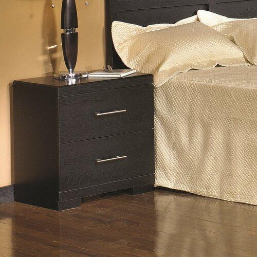 Progressive Furniture Hylton Road 2 Drawer Nightstand