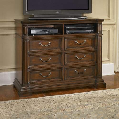 Regency 6 Drawer Media Chest