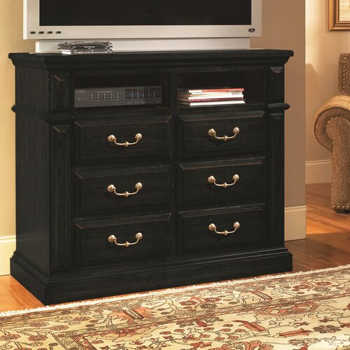 Progressive Furniture Inc. Torreon 6 Drawer Media Chest