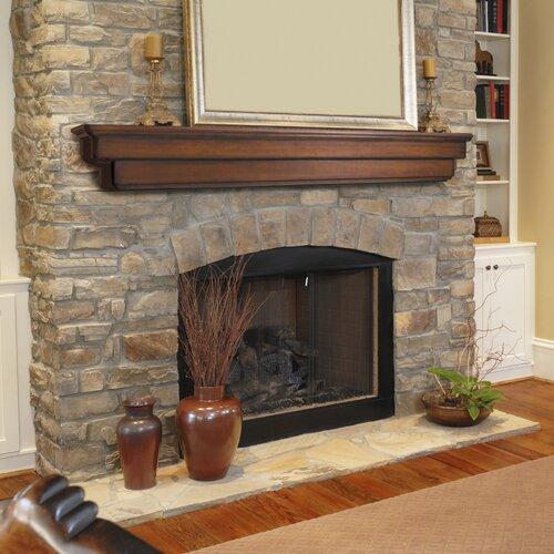 Pearl Mantels Auburn Fireplace Mantel Shelf Amp Reviews