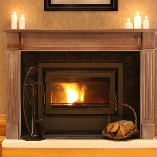 Pearl Mantels The Alamo Fireplace Mantel Surround