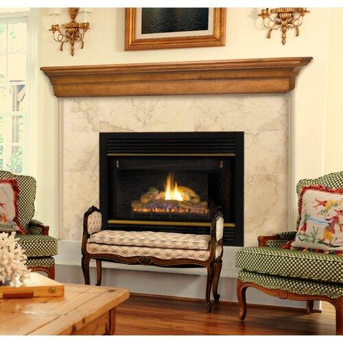 Pearl Mantels Lindon Fireplace Mantel Shelf Amp Reviews