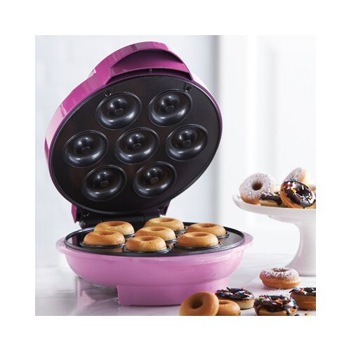 mini donut maker wayfair. Black Bedroom Furniture Sets. Home Design Ideas