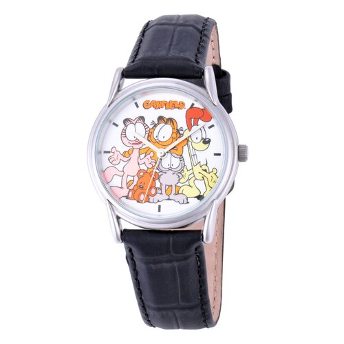 Garfield Men's Cardiff Leather Strap Watch