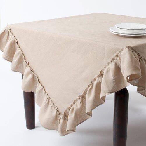 Ruffled Design Tablecloth