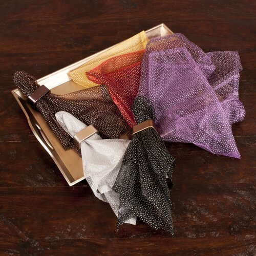 Dotted Organza Napkin (Set of 4)