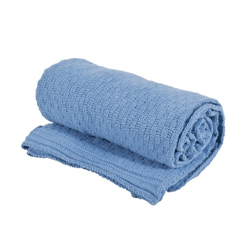 Saro Chenille Polyester Throw