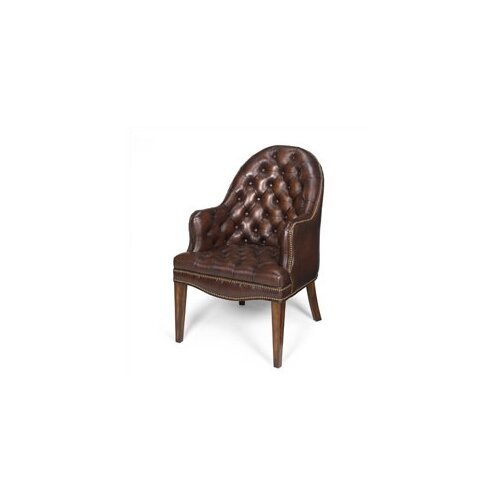 Seven Seas Seating Cleveland Leather Executive Guest Side Chair