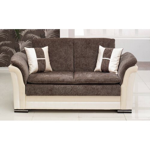 Beyan Deluxe Convertible Loveseat