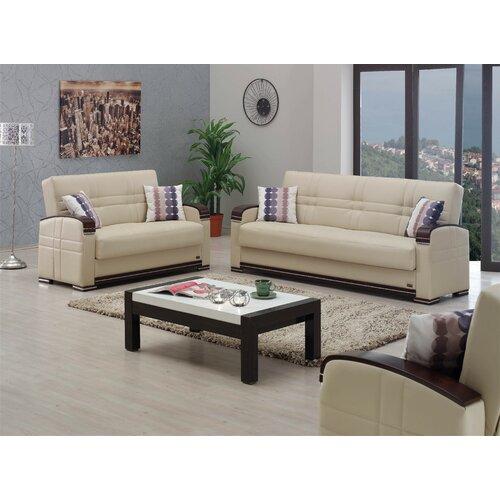 Beyan Signature Fulton Convertible Sofa