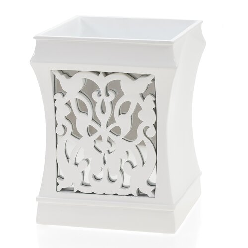 Creative Scents Brocade Mirror Wastebasket