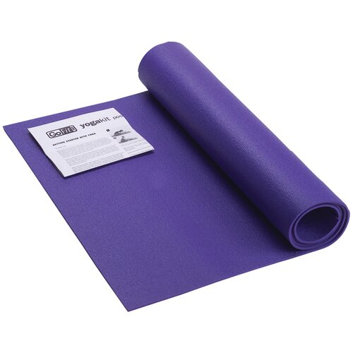 GoFit Yoga Mat and Position Poster