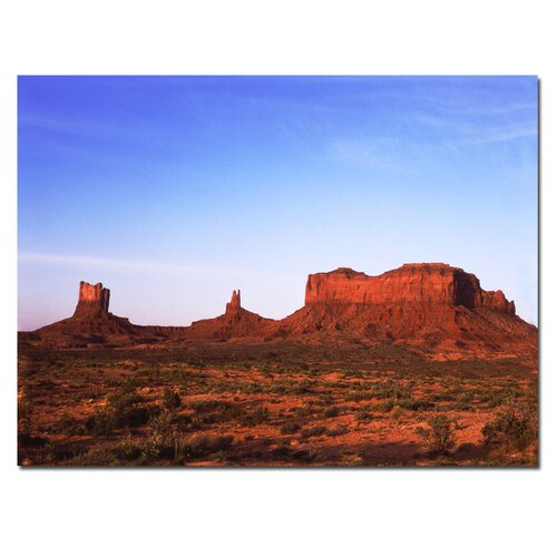 Trademark Fine Art 'Monument Valley' by Kurt Shaffer Photographic Print on Canvas