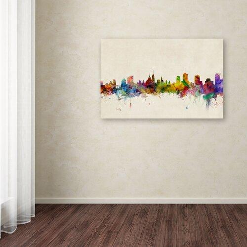 "Trademark Fine Art Michael Tompsett ""Ottawa Canada"" Canvas Art"