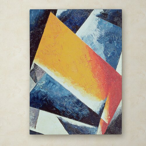 Lyubov Popova 'Architectonic Composition' Canvas Art