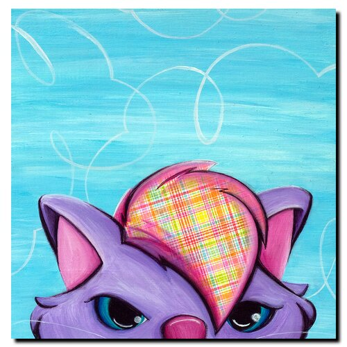 Trademark Fine Art Kitty by Sylvia Masek Canvas Art