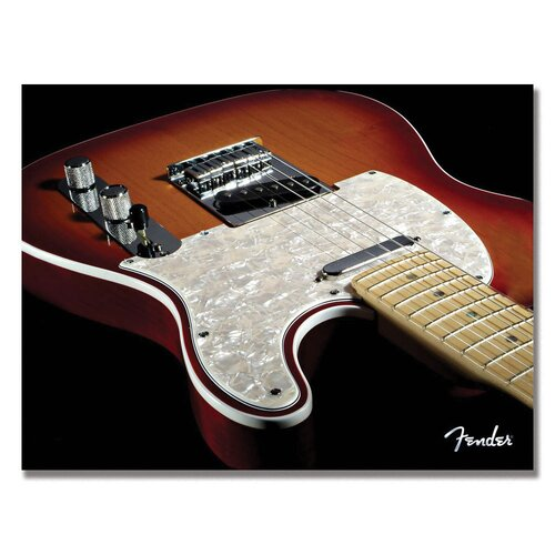 Telecaster Photographic Print on Canvas