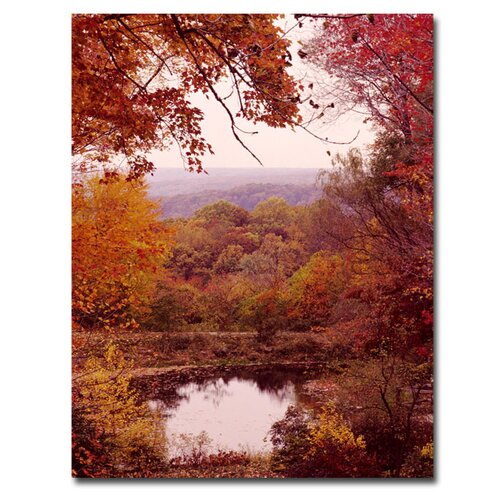 "Trademark Fine Art ""The Cuyahoga Valley"" by Kurt Shaffer Photographic Print on Canvas"