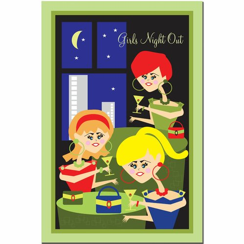 'Girls Night Out' Canvas Art