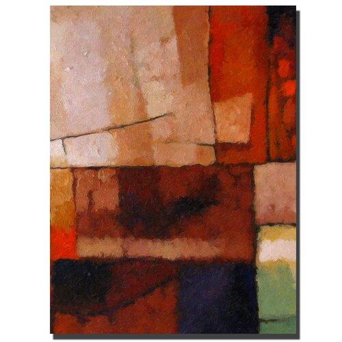 Trademark Fine Art 'Elements' by Adam Kadmos Painting Print on Canvas
