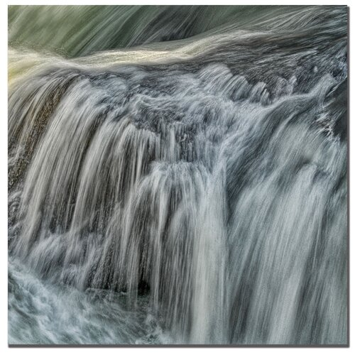 Trademark Fine Art 'Waterfall in D' by Philippe Sainte-Laudy Photographic Print on Canvas