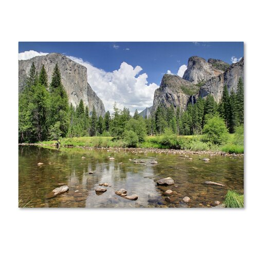 'Yosemite' by Pierre Leclerc Photographic Print on Canvas