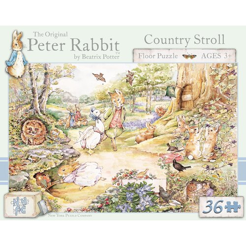 Country Stroll 36-Piece Floor Puzzle