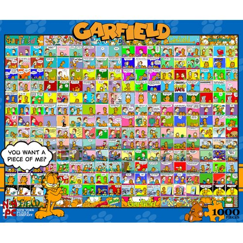 Garfield Comic Strips 1000-Piece Puzzle