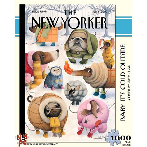 Baby It's Cold Outside 100-Piece Puzzle