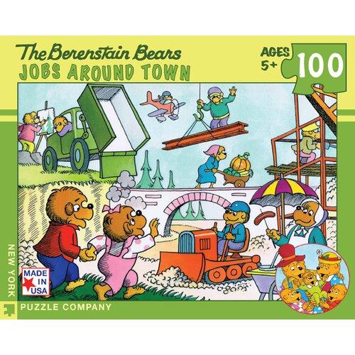 Berenstain Bears Jobs Around Town 100-Piece Puzzle