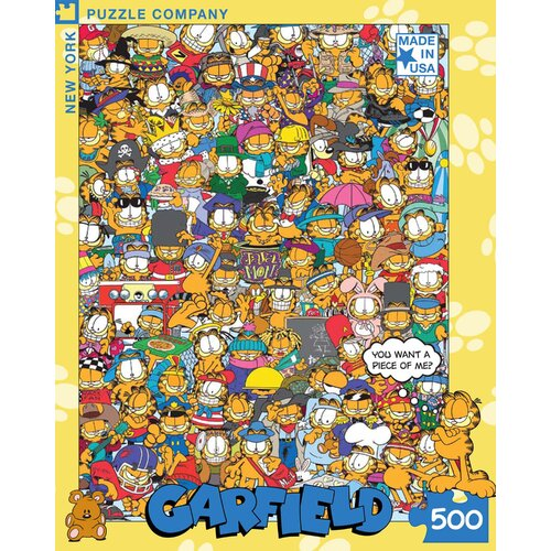 Garfield All Dressed Up 500-Piece Puzzle