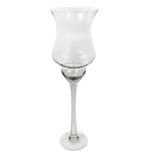 Hurricane Glass Vase