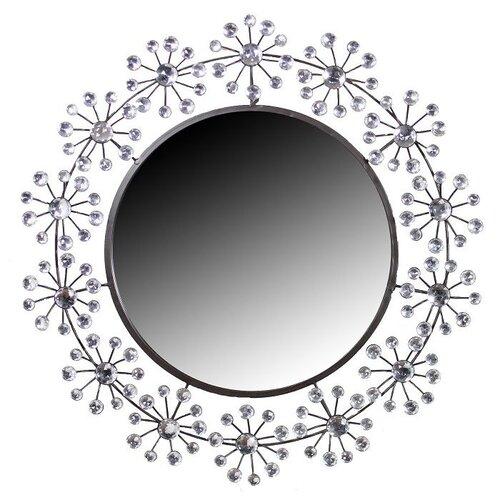Stone Round Wall Mirror