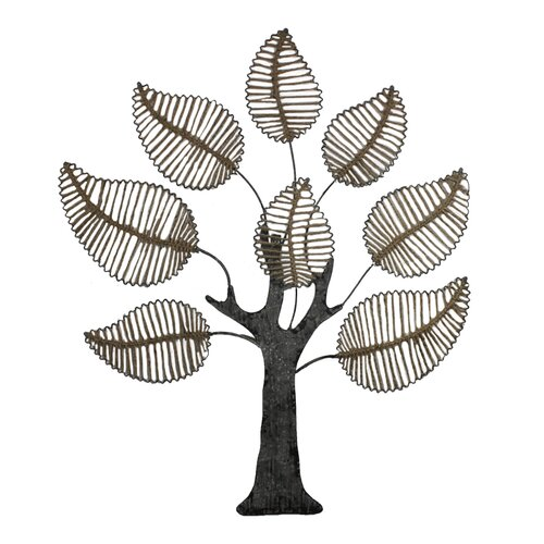 Metal Tree Decoration