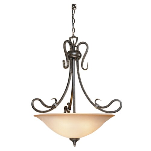 Laura Ashley Home Covey 4 Light Inverted Pendant