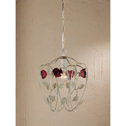 Laura Ashley Home English Rose 1 Light Pendant
