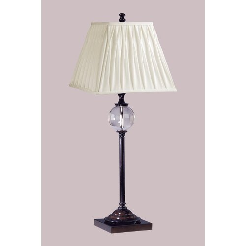 "Laura Ashley Home Keats 30.5"" H Table Lamp with Square Shade"